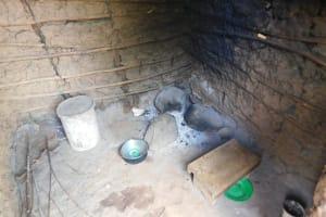 The Water Project: Musango Community, Wambani Spring -  Inside Kitchen