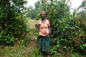 The Water Project: Musango Community, Wambani Spring -  Josephine Okumu