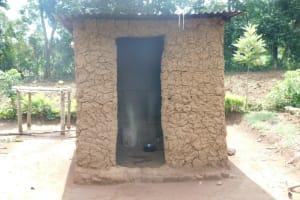 The Water Project: Musango Community, Wambani Spring -  Outside Kitchen