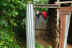 The Water Project: Maraba Community, Nambwaya Spring -  Bathing Shelter