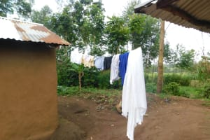 The Water Project: Maraba Community, Nambwaya Spring -  Clothesline