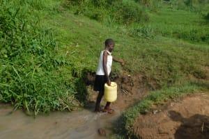The Water Project: Maraba Community, Nambwaya Spring -  Leaving The Spring
