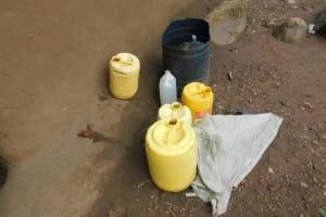 The Water Project: Maraba Community, Nambwaya Spring -  Water Storage Containers