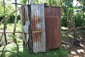 The Water Project: Emusaka Community, Muluinga Spring -  Bathing Shelter