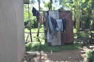 The Water Project: Emusaka Community, Muluinga Spring -  Clothesline