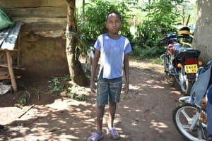 The Water Project: Emusaka Community, Muluinga Spring -  Marthan