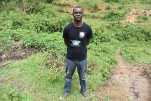 The Water Project: Bukalama Community, Wanzetse Spring -  Davis Nzofu