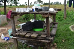 The Water Project: Bukalama Community, Wanzetse Spring -  Diskrack