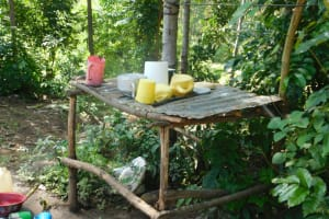 The Water Project: Mabanga Community, Ashuma Spring -  Dish Rack