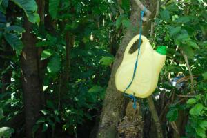 The Water Project: Mabanga Community, Ashuma Spring -  Handwashing Station