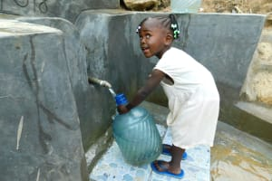 The Water Project: Ikonyero Community, Jesse Spring -  I Can Fill It On My Own