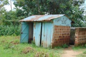 The Water Project: Mwembe Primary School -  Boys Latrine Block