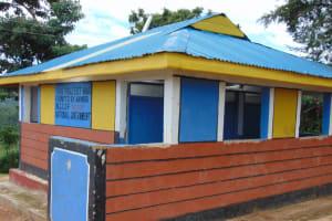 The Water Project: Mwembe Primary School -  Girls Latrines Block