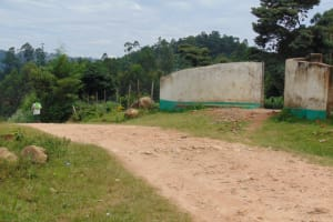 The Water Project: Mwembe Primary School -  Road Leading To The School Gate