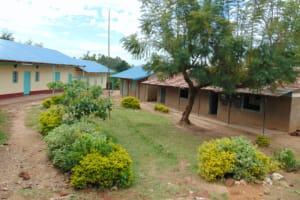 The Water Project: Mwembe Primary School -  School Layout