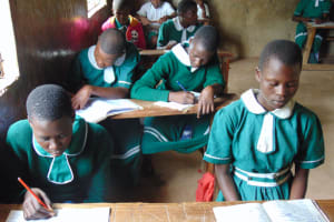 The Water Project: Mwembe Primary School -  Students In Class