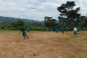 The Water Project: Mwembe Primary School -  Students On The Playground