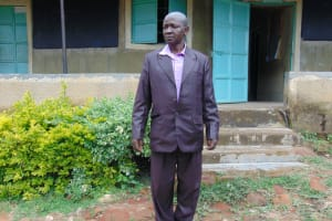 The Water Project: Mwembe Primary School -  Teacher Francis Ingairu
