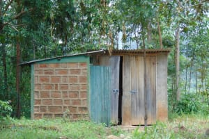 The Water Project: Mwembe Primary School -  Teachers Toilet