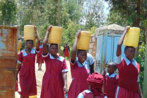 The Water Project: Jivuye Primary School -  Girls Back In School With Water
