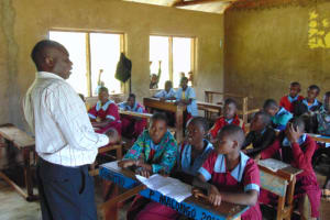The Water Project: Jivuye Primary School -  Pupils Being Taught