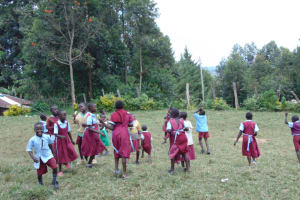 The Water Project: Jivuye Primary School -  Pupils Playing