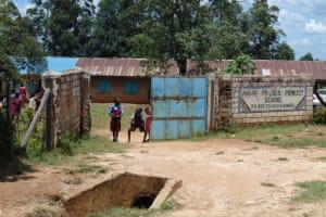 The Water Project: Jivuye Primary School -  School Entrance