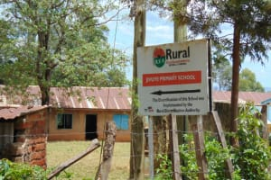 The Water Project: Jivuye Primary School -  Signage