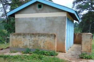 The Water Project: Friends Musiri Primary School -  Girls Latrines