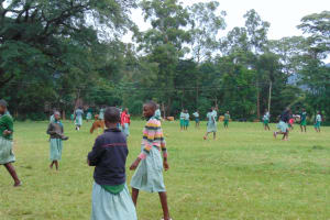 The Water Project: Friends Musiri Primary School -  Students On The Playground