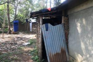The Water Project: Mahira Community, Mukalama Spring -  Bathing Room Sample