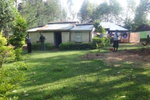 The Water Project: Mahira Community, Mukalama Spring -  Homestead