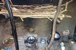 The Water Project: Mahira Community, Mukalama Spring -  Inside A Kitchen
