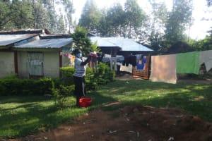 The Water Project: Mahira Community, Mukalama Spring -  Washing Clothes