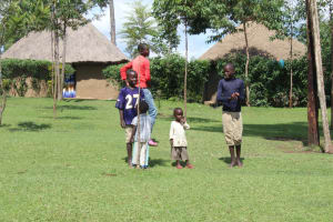 The Water Project: Lukala C Community, Livaha Spring -  Children Playing