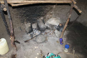 The Water Project: Lukala C Community, Livaha Spring -  Cooking Area