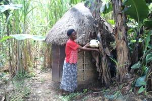 The Water Project: Lukala C Community, Livaha Spring -  Handwshing