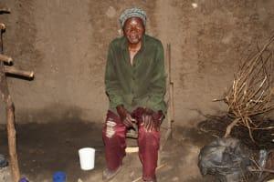 The Water Project: Lukala C Community, Livaha Spring -  Mama Fridah Inside Her Kitchen