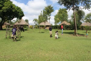 The Water Project: Lukala C Community, Livaha Spring -  Playing On Open Fields