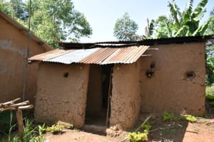 The Water Project: Lunyinya Community, Makunga Spring -  Outside Kitchen