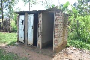 The Water Project: St. Peter's Ebunga'le Primary School -  Boys Latrine