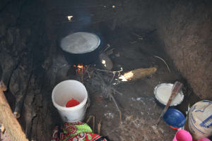 The Water Project: St. Peter's Ebunga'le Primary School -  Kitchen Inside