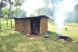 The Water Project: St. Peter's Ebunga'le Primary School -  Schol Cook Standing In Kitchen Doorway