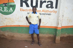 The Water Project: St. Peter's Ebunga'le Primary School -  Student Samuel