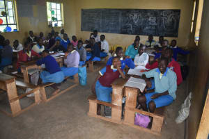 The Water Project: St. Peter's Ebunga'le Primary School -  Students In Class
