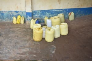 The Water Project: St. Peter's Ebunga'le Primary School -  Water Storage Containers