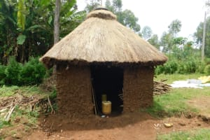 The Water Project: Mwitwa Community, Matiang'i Spring -  Kitchen