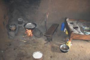 The Water Project: Shianda Township Community, Olingo Spring -  Preparing Food Inside The Kitchen