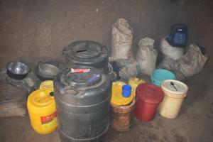The Water Project: Shianda Township Community, Olingo Spring -  Water Storage