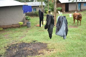The Water Project: Maraba Community, Shisia Spring -  Clothesline